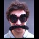 Sonnenbrille mit Augenbrauen und Schnauz   Preis CHF: 12.90